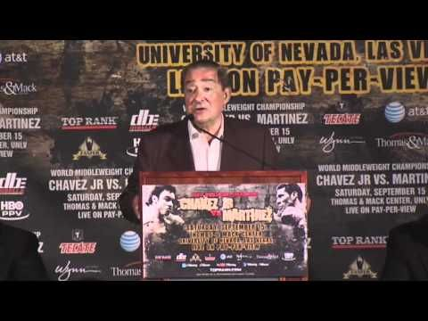 Preview: The First Chavez-Martinez Press Conference