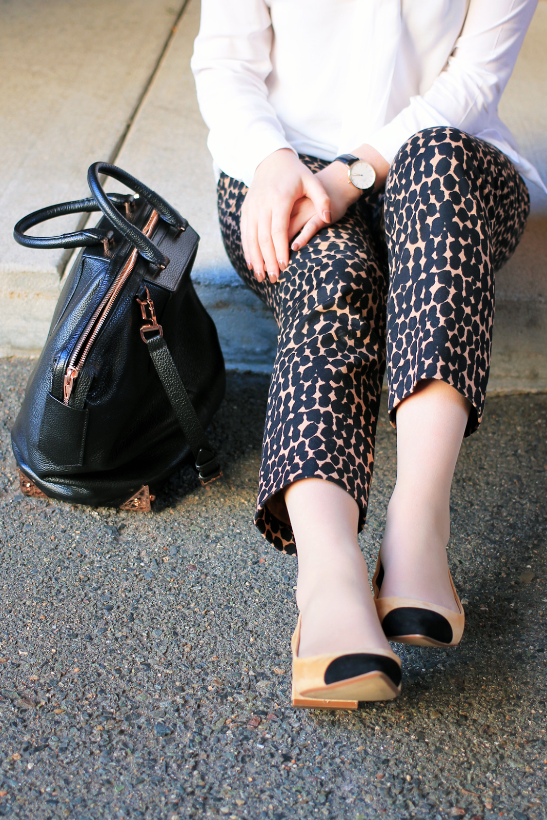 zara toe cap heels // style-blueprint.com > boston fashion blogger ...