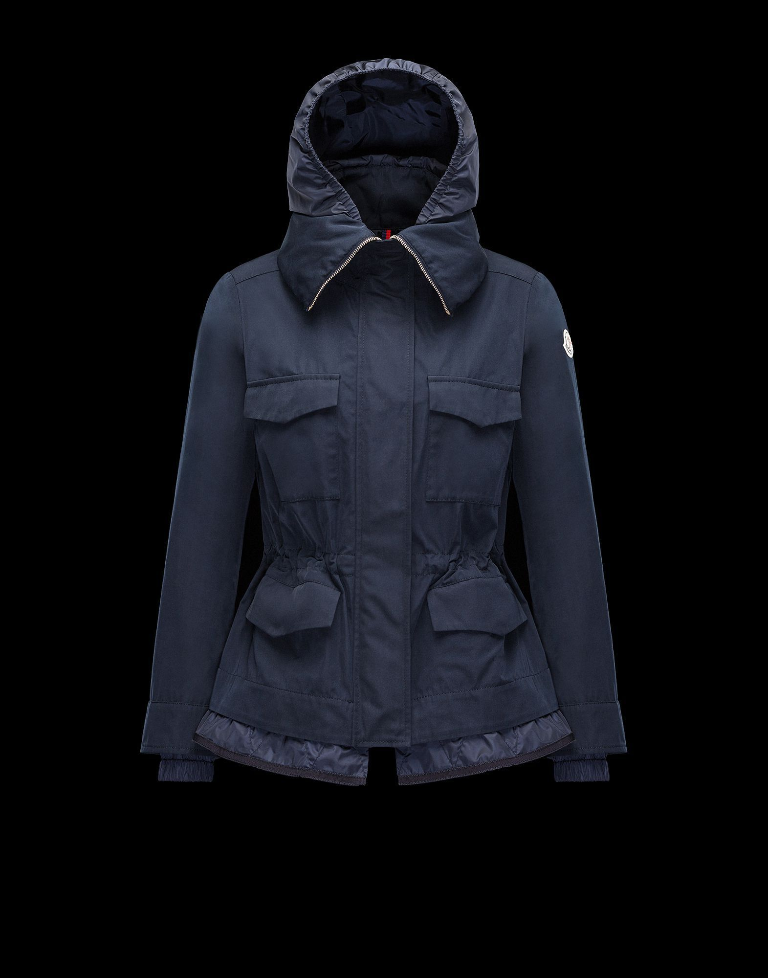 Moncler More Jackets Moncler 17 Spring Summer Eclair Jacket Navy Blue Outerwear Fashion Jackets Overcoats [ 2000 x 1571 Pixel ]
