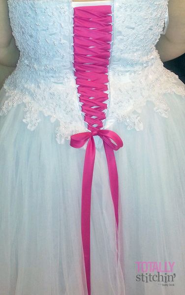 This is so cool! I\'ve done a lot of bridal gown alterations and from ...
