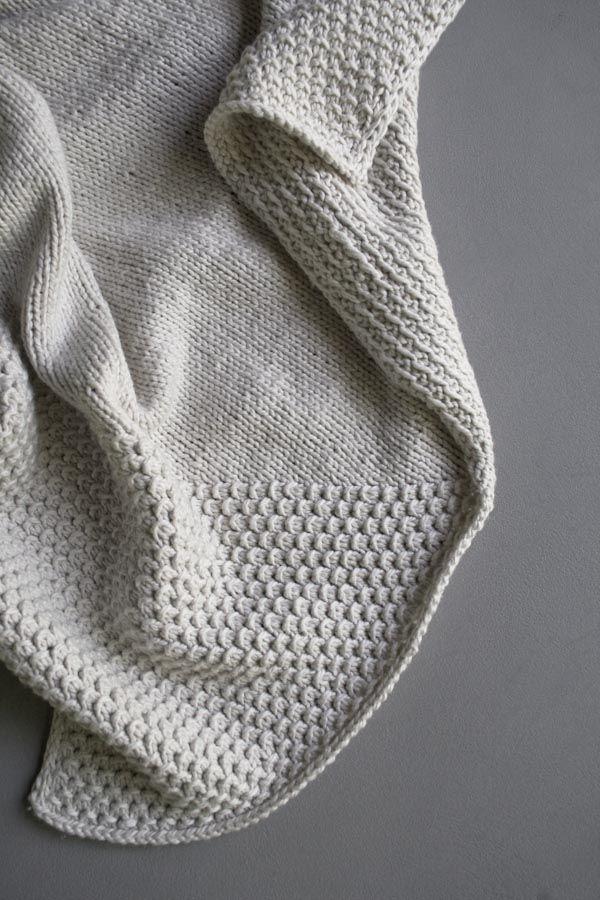 d7213b1bd3c62 Purl Soho  Cozy Corners Crib Blanket