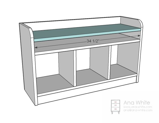 High Quality Ana White   Build A Perfect Cubby Bench   Free And Easy DIY Project And  Furniture