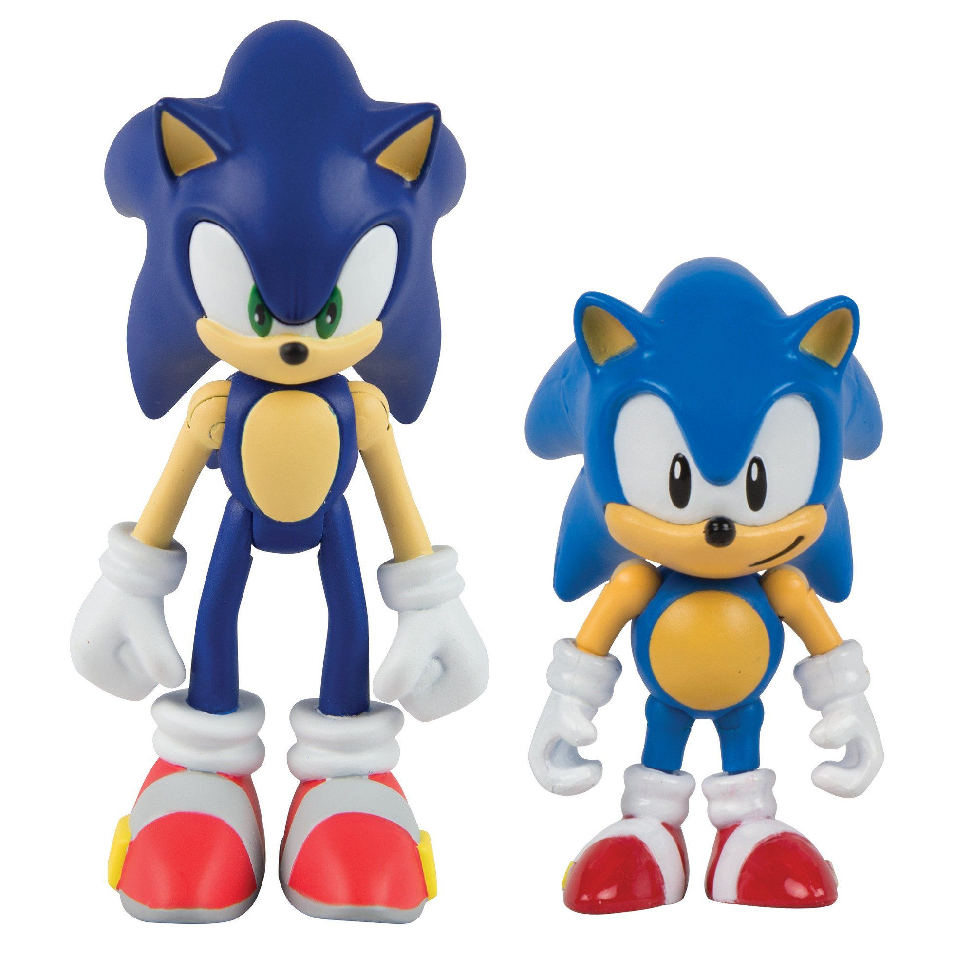 Tomy Sonic Collector Series 2 Figure Pack With Comic Classic Sonic Modern Sonic Set Includes Two Sonic Figures Clas Classic Sonic Sonic The Hedgehog Sonic