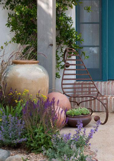 Grace Design Associates Inc Furniture Courtyard Gardens Design Mediterranean Garden Design Small Courtyard Gardens
