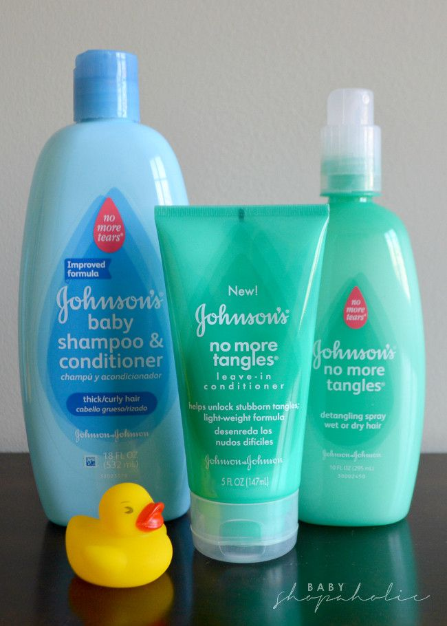 Johnson's baby haircare products that are great for curly ...