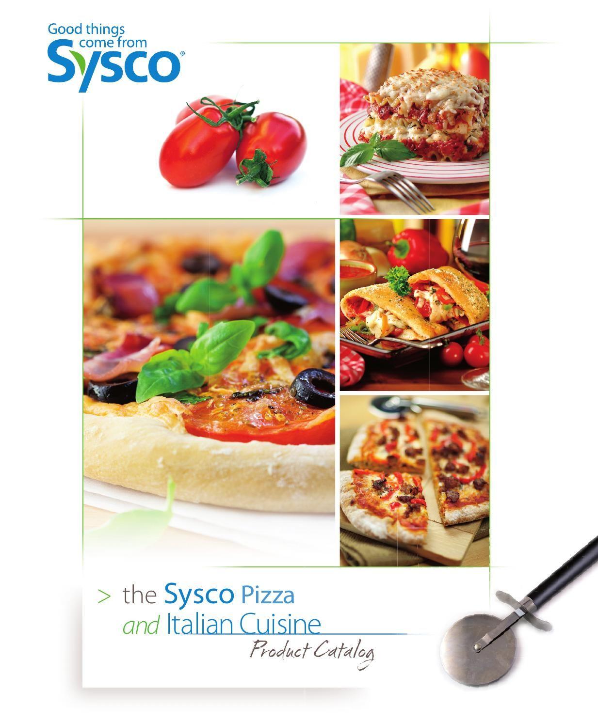 Sysco Pizza and Italian Product Catalog Sysco foods