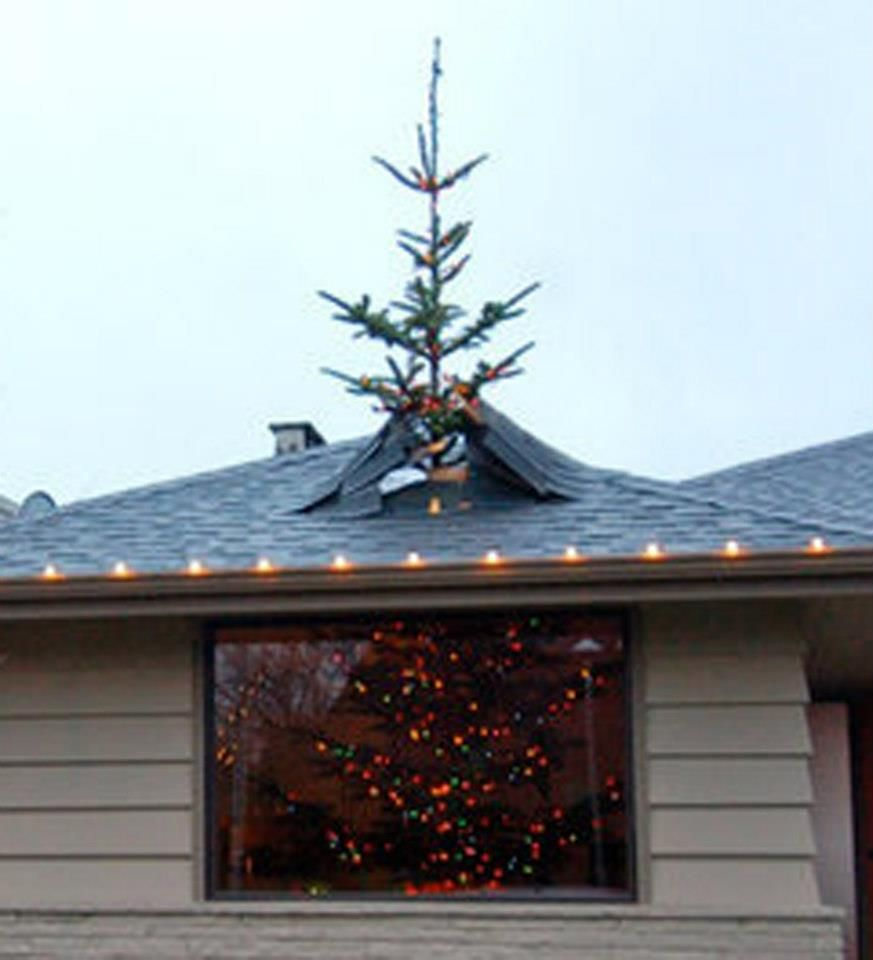 Christmas Tree Through Roof Epic Fails Christmas Tree Christmas Vacation