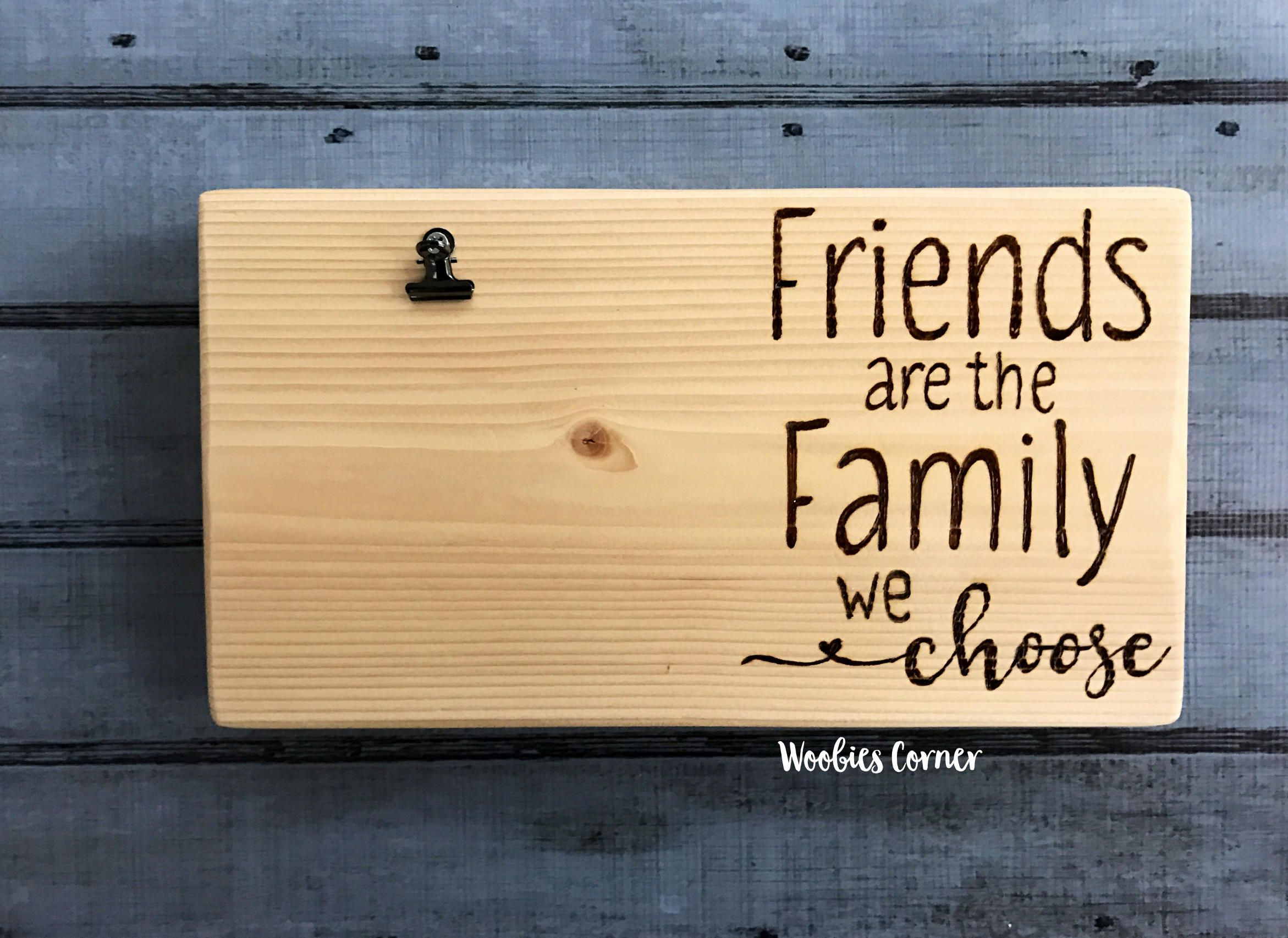 Best Friend Gift Picture Frame Quotes Friends Are The