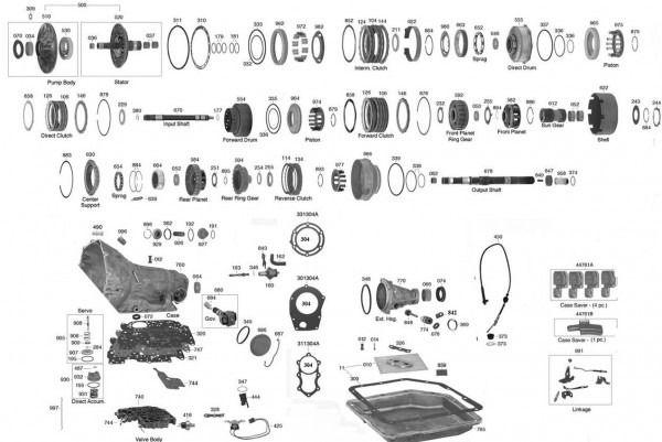 Trans Parts Online 350 350 Transmission Parts In 2020