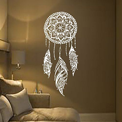incrediblewalldecals mn923 attrape r ves en plumes. Black Bedroom Furniture Sets. Home Design Ideas
