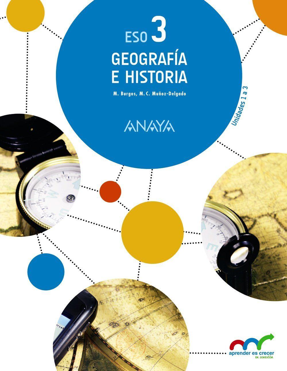 Libro de Geografía e Historia 3º ESO. (Aprender es crecer