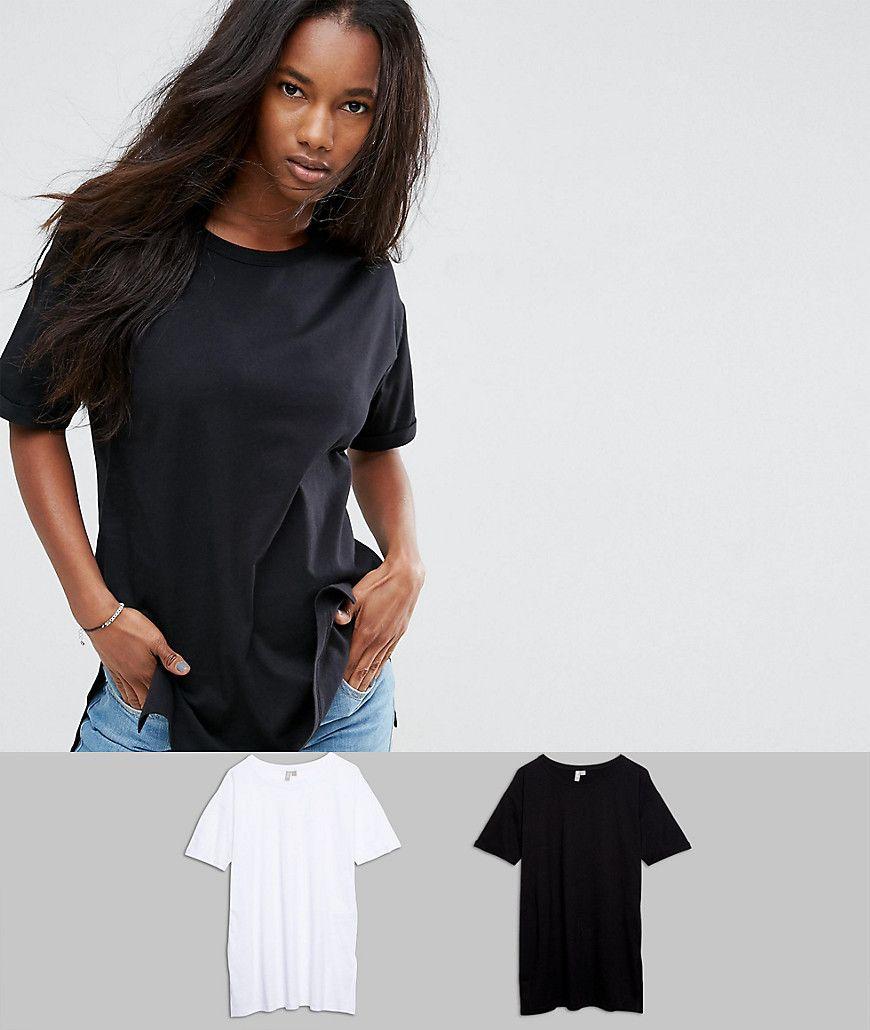 ASOS Ultimate Easy Boyfriend T Shirt 2 Pack Multi | Latest