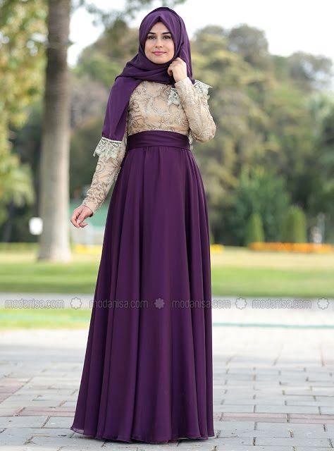 Jilbab style robe soiree