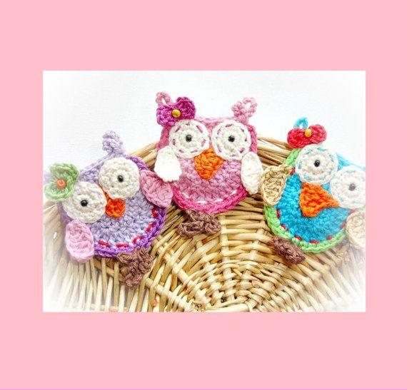 Instant Download: Crochet Owl Pattern oo1