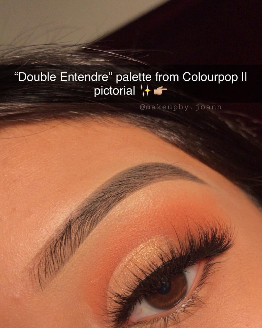 Double Entendre Colourpop Looks