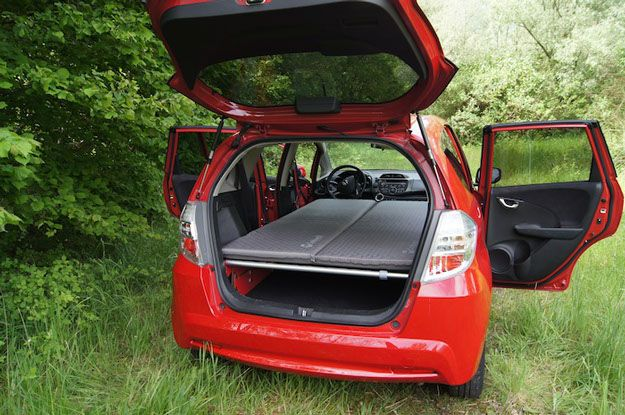 Swissroombox Home Small Travel Trailers Honda Fit Camping Car Camper