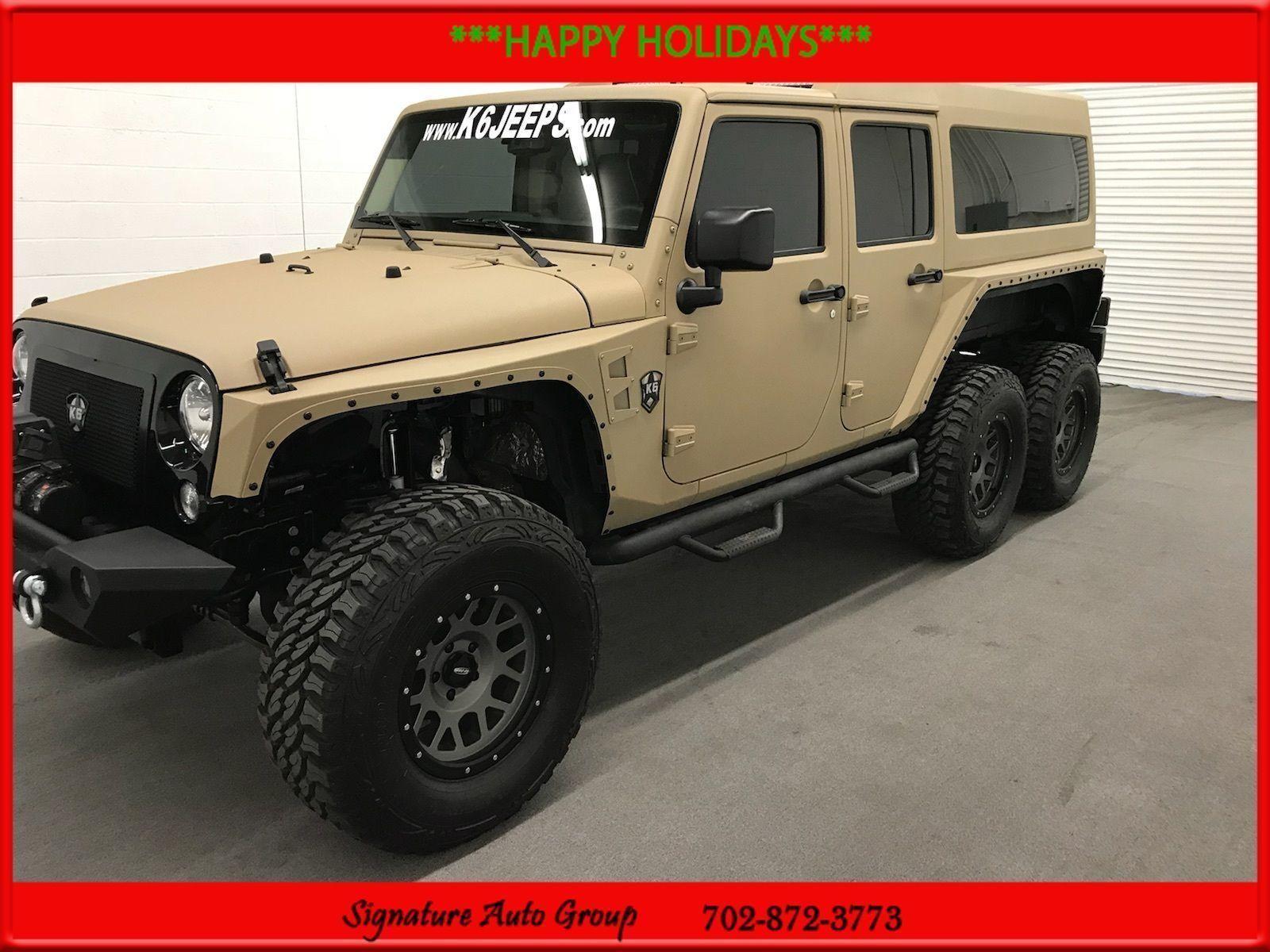 Used 2017 Jeep Wrangler 6 6 Jeep 6 Wheel Drive Used Rare Tvs Kev 2018 2019 Jeep Wrangler 2017 Jeep Wrangler Classic Trucks