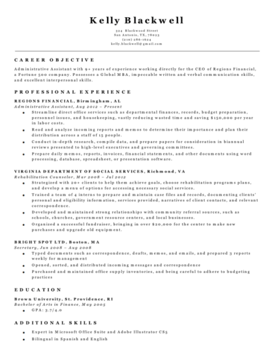 Black And White Classic Resume Builder Template Resume Builder
