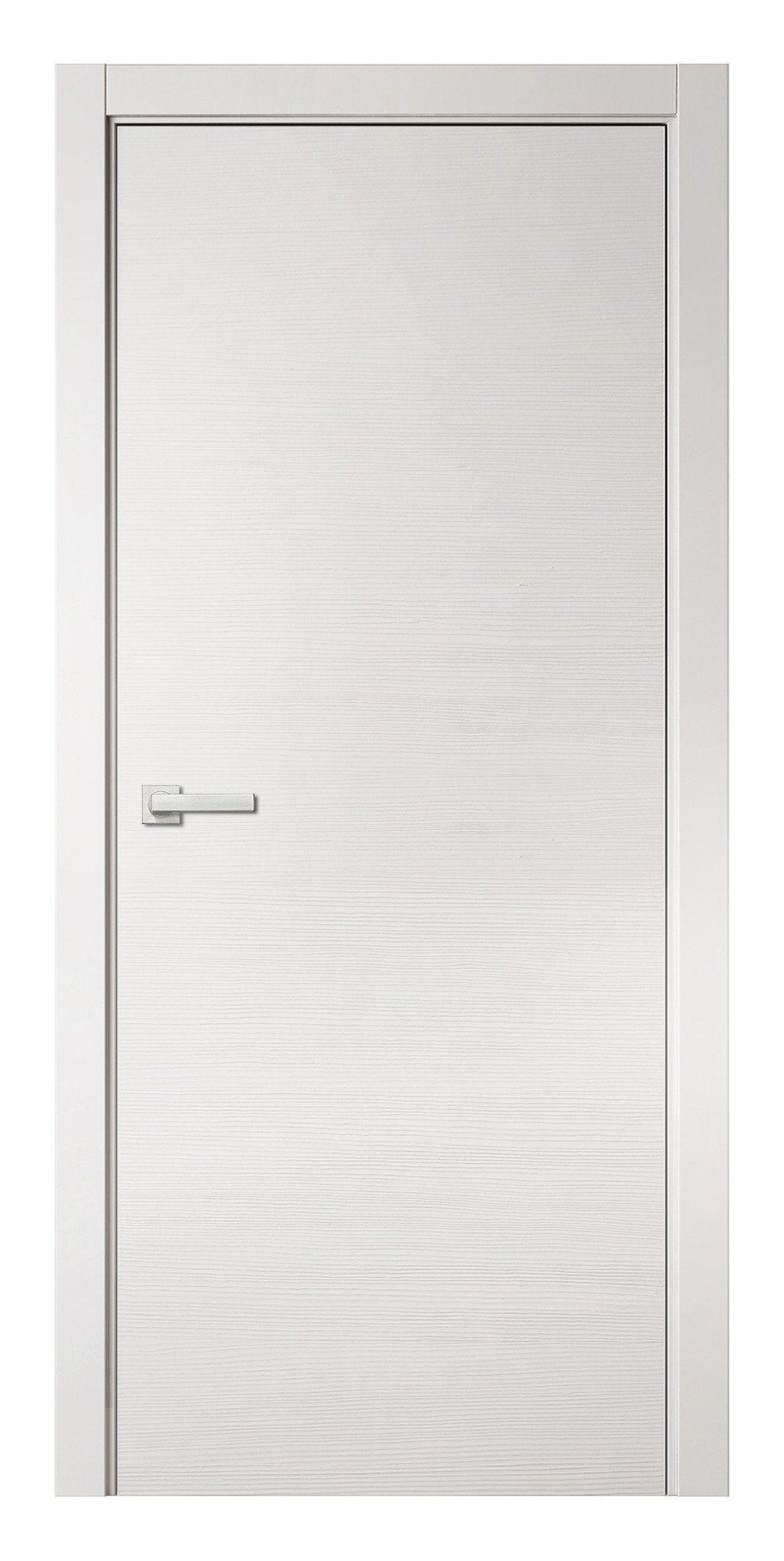 Natural Veneered Wooden Flush Door Design Mdf Living Room: Planum 0020 Interior Modern Flush Solid Pre-hung Door