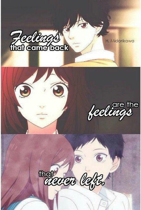 Ao Haru Ride Anime Frases Anime Arte De Anime
