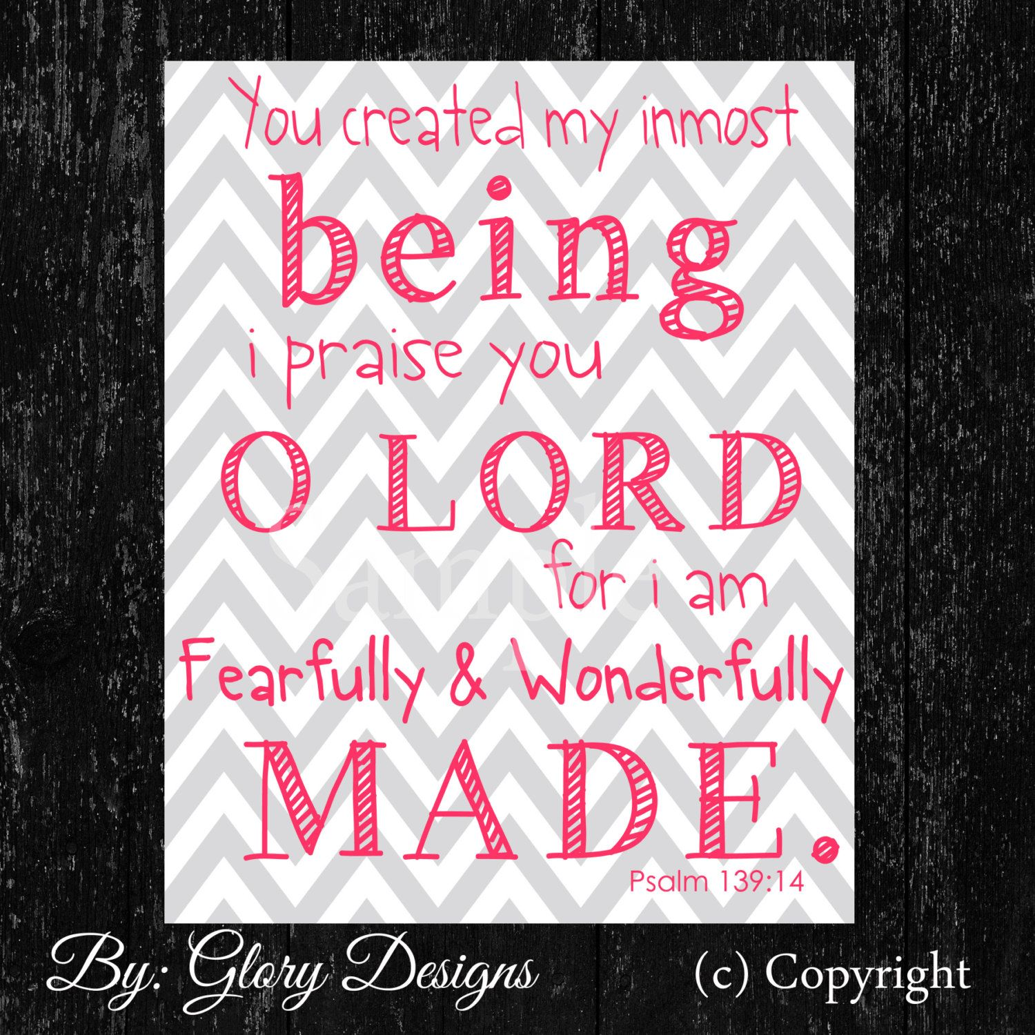 Church Nursery Pictures Google Search: For You Are Fearfully And Wonderfully Made Sign