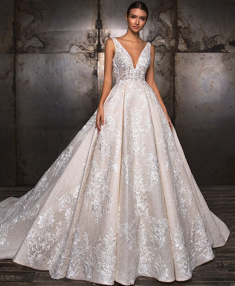 Discount Designer Wedding Gowns: Crystal Design: TAFFI Dress. A Bridal Ball Gown With