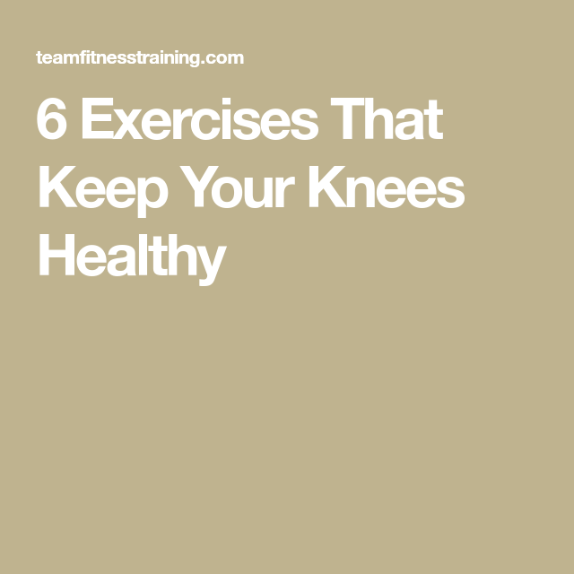 6 Exercises That Keep Your Knees Healthy And the Oscar Goes to? Watching the Oscars can be quite ent