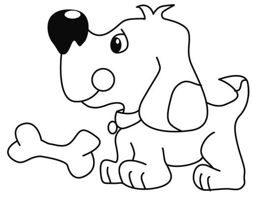 Perro labrador para pintar e imprimir  Imagui  IDEAS CREATIVAS