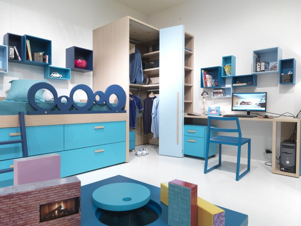 Camerette dearkids camerette bedroom s pinterest - Cabine armadio mercatone uno ...