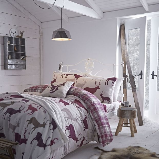 Buy Catherine Lansfield Grampian Stag Duvet Cover Set Kingsize