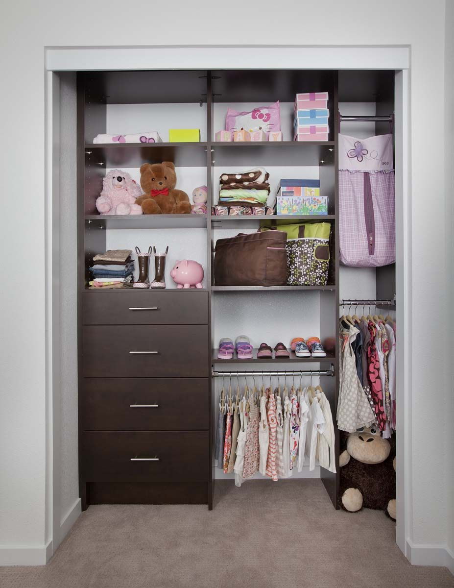 Kids Reach In Closet Organization Small Space Used Wisely Kids