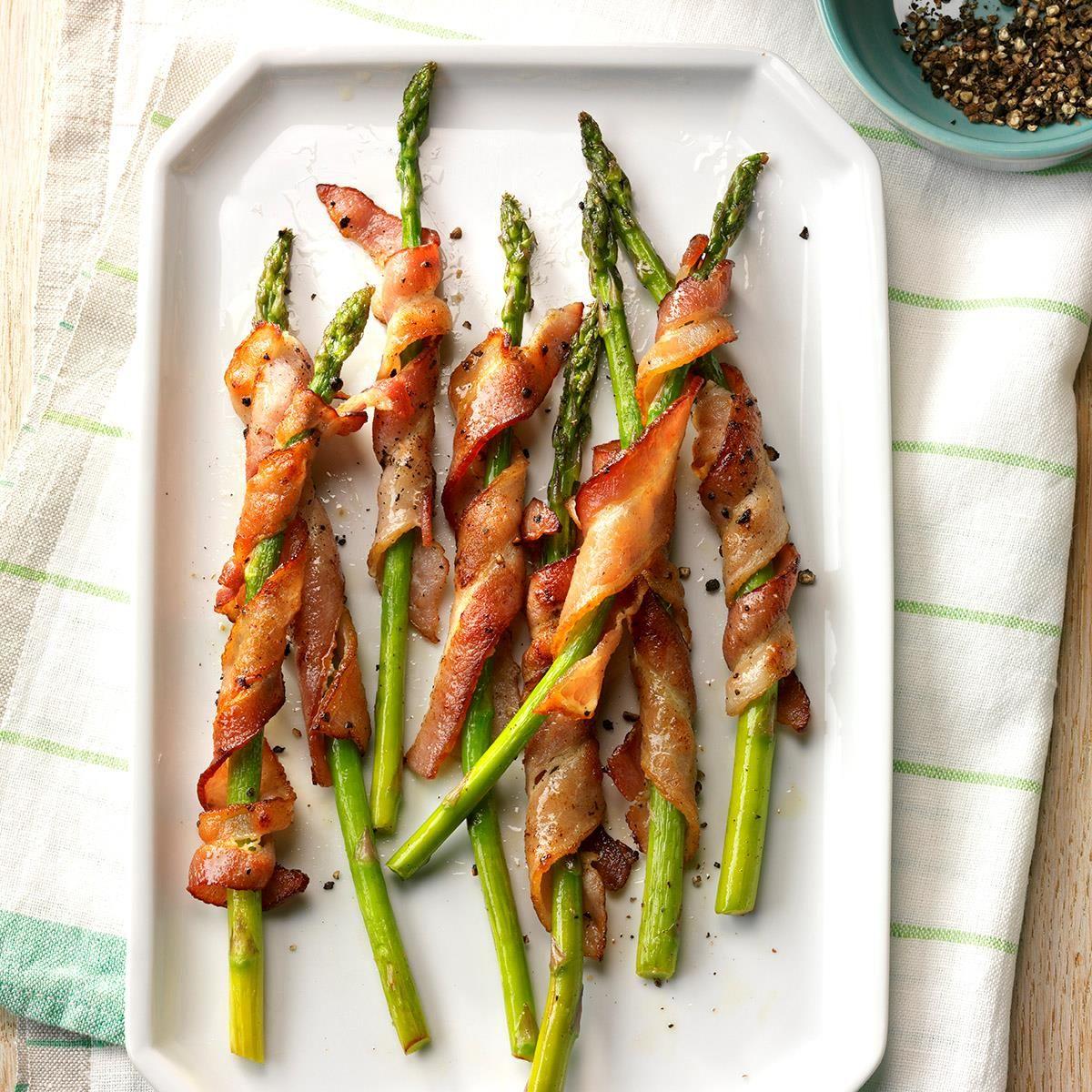 Bacon Wrapped Asparagus Recipe Glutenfree Main Dish