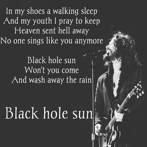 black hole sun lyrics - 720×720