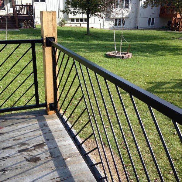 Top 70 Best Under Stairs Ideas: Top 70 Best Deck Railing Ideas