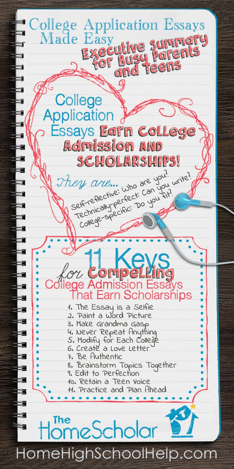 Tips For Tackling College Application Essays Homeschool  Tips For Tackling College Application Essays Homeschool Thehomescholar