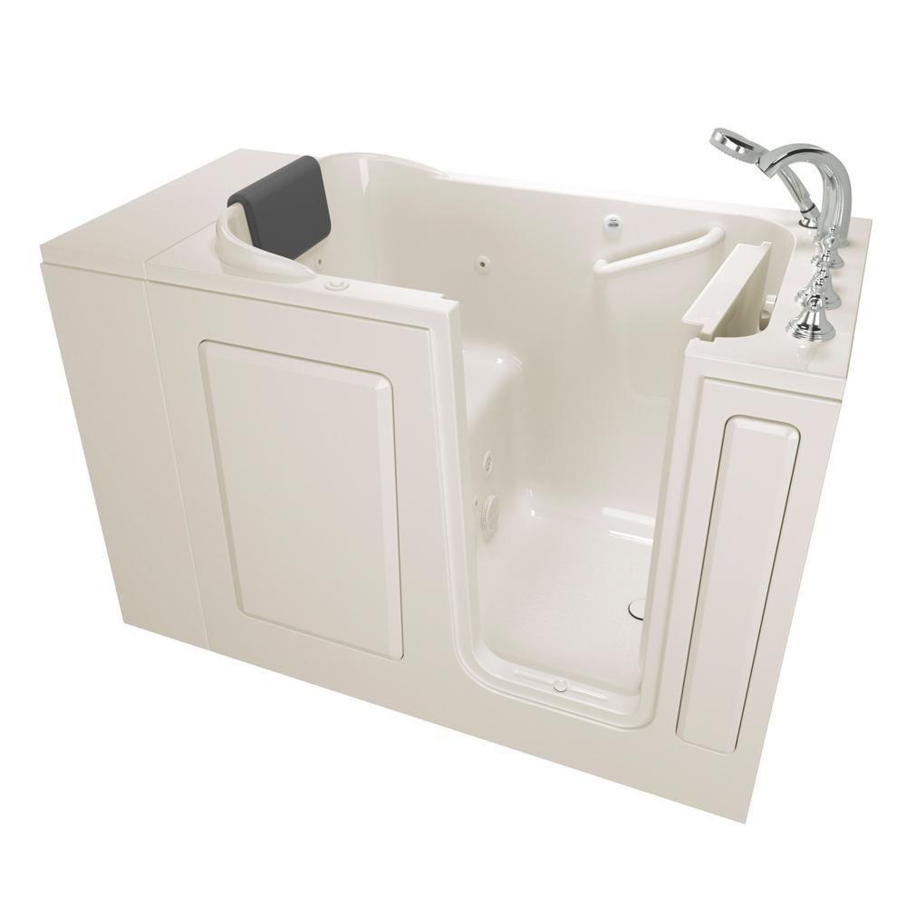 American Standard Gelcoat Premium Series 4 ft. Walk-In Whirlpool ...