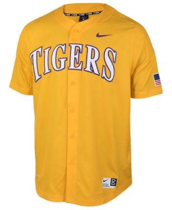 check out 33d97 31687 Nike Men Lsu Tigers Full-Button Vapor Elite Baseball Jersey ...