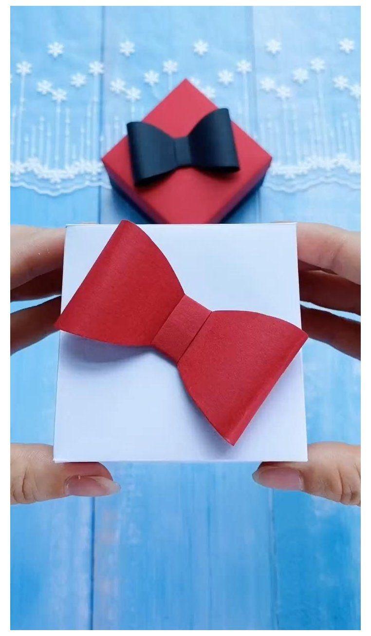 DIY Craft-Easy DIY Gift Box with Bocknot #gift #box #decorating #ideas #giftboxdecoratingideas