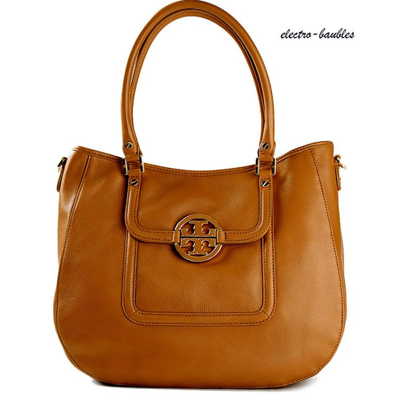 104503a1e7 Authentic Tory Burch Amanda East West Tote in Royal Tan - MSRP  485+   ToryBurch  Amanda