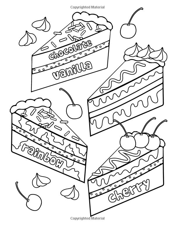 Nezdorovaya Pisha Raskraska 24 Stranicy Raskraski Knigi Kejts Deni 9781533253934 Amazon Com Knigi Food Coloring Pages Coloring Pages Cute Coloring Pages