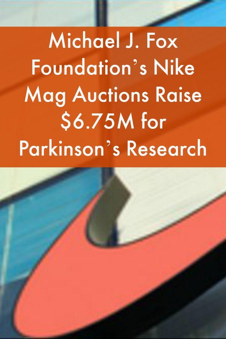 Michael J. Fox Foundation s Nike Mag Auctions Raise  6.75M for Parkinson s  Research  ParkinsonsNewsToday 60b1adce750d