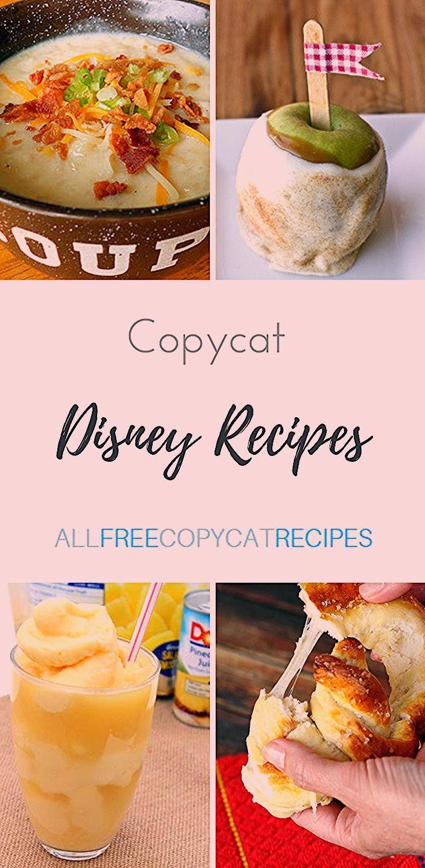Photo of 16 Copycat Disney Recipes