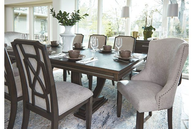 Beige Zimbroni Dining Room Chair View 3 Oversized Chair Living