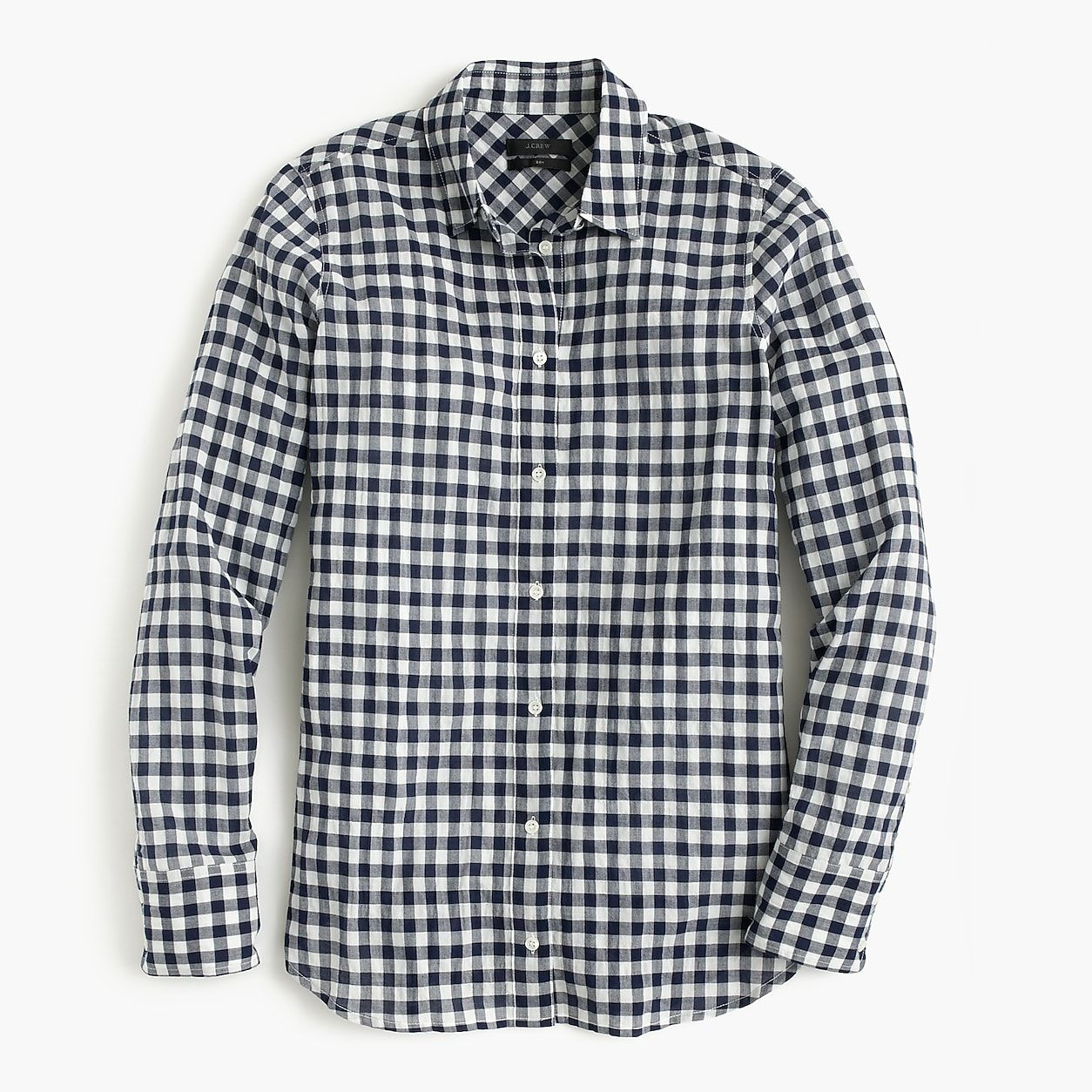 ed5f75a5ba1 Petite Classic-Fit Boy Shirt In Crinkle Gingham in 2019