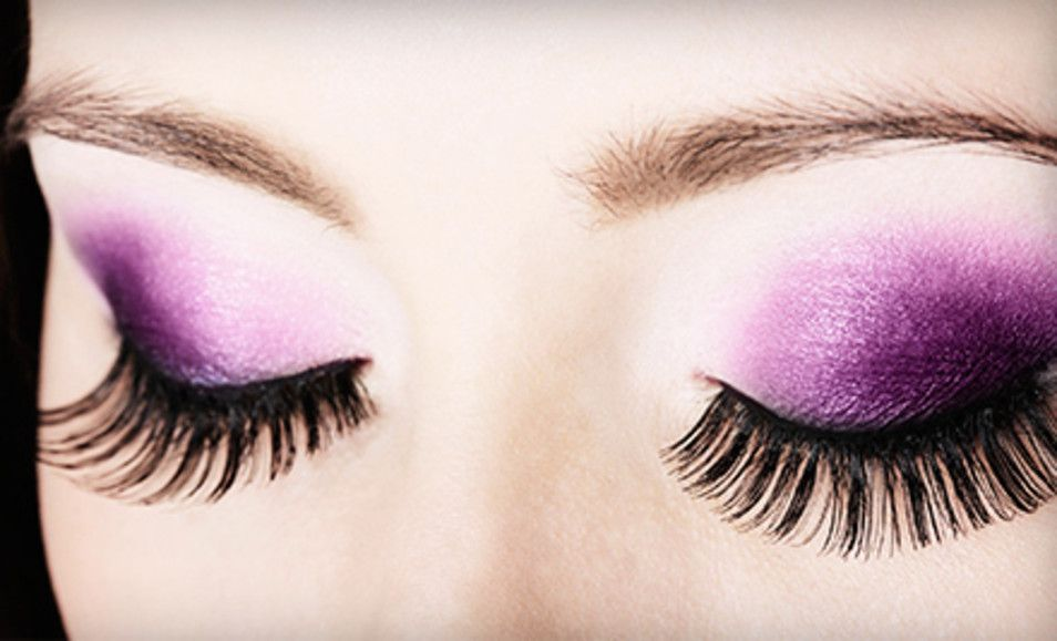 Groupon Full Set Of Synthetic Or Mink Eyelash Extensions At Dulce