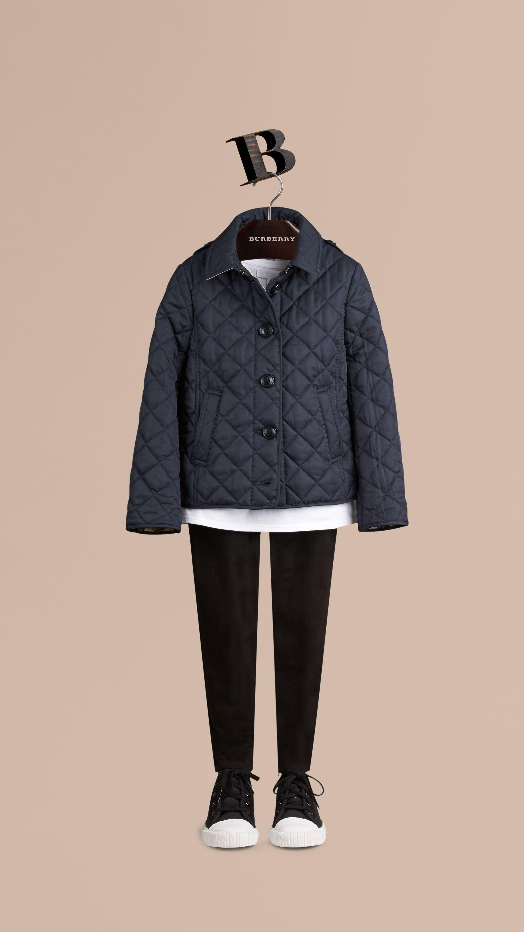 35cf029e1 Girls' Coats & Jackets | Burberry | Stylish Kids | Quilted jacket ...