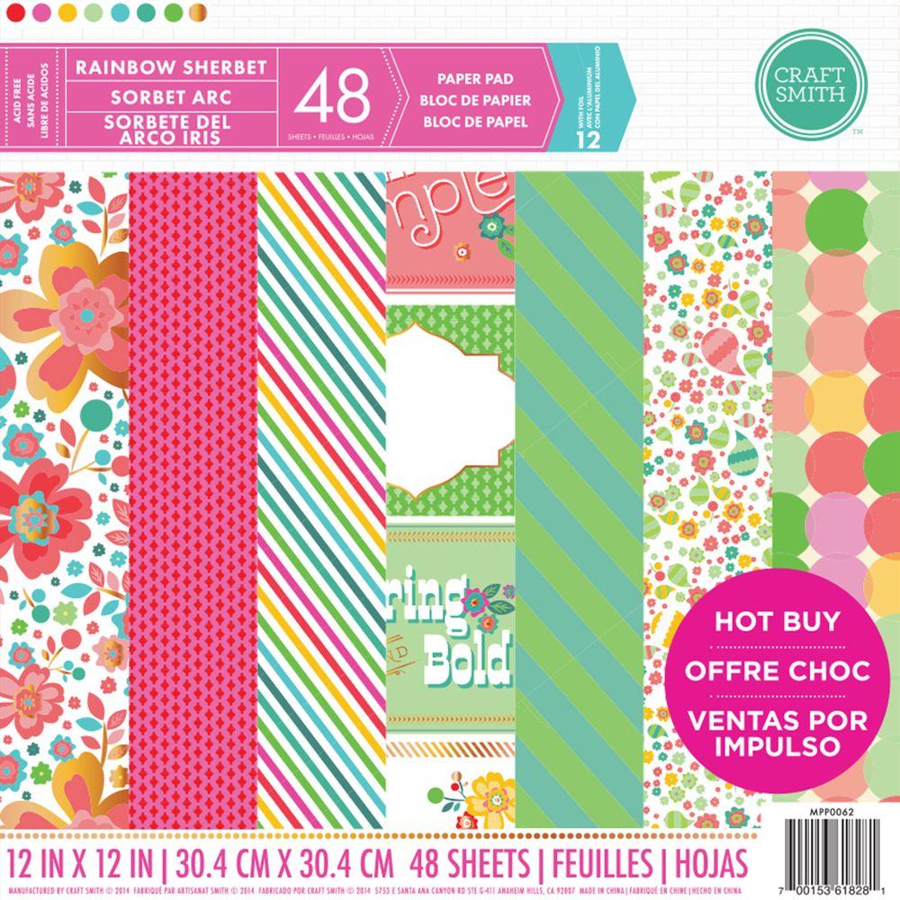 12 new paper pads at michaels rainbow sherbet crafts and 12 new paper pads at michaels craft smiths rainbow sherbet jeuxipadfo Choice Image