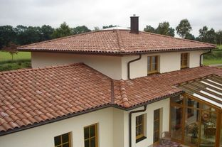 Best Multi Color Clay Tile Roof Google Search House Roof 400 x 300