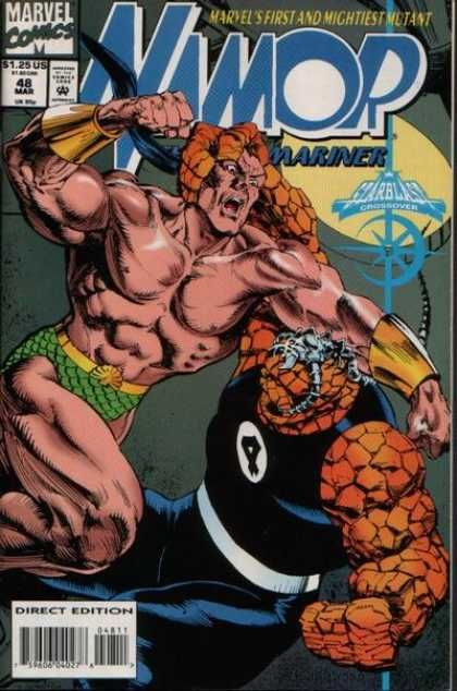 Marvel - The Thing - Mariner - 48 - Crossover