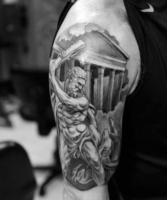 Top 59 Greek Mythology Tattoo Ideas 2021 Inspiration Guide Greek Mythology Tattoos Mythology Tattoos Greek Tattoos